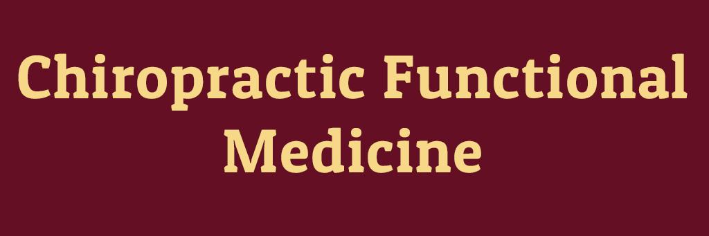 ChiropracticFunctionalMedicine